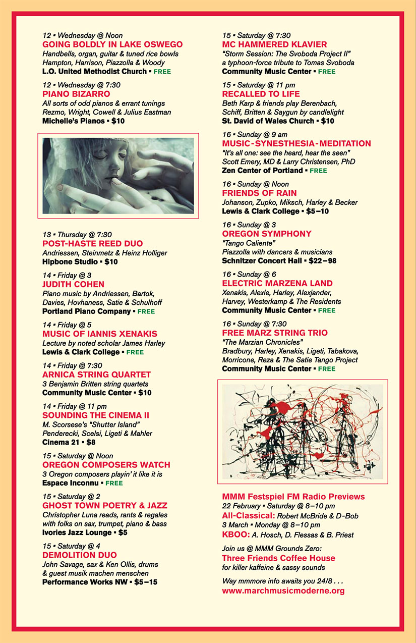MMM 2014 schedule-week-2